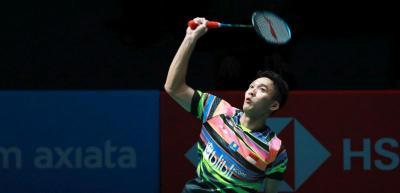 Jonatan Kandas, Indonesia Tertinggal 1-2 dari Taiwan