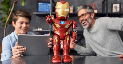 Intip Robot Iron Man yang Bisa Berjalan dan Berbicara