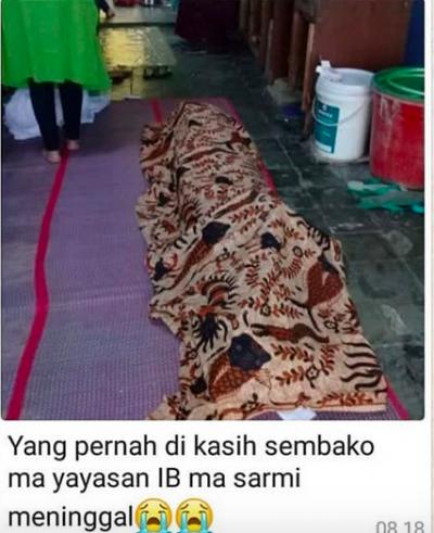 Beredar Foto Jenazah Lansia Ditolak Masjid untuk Disalatkan, Begini Faktanya!