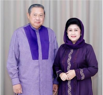 5 Potret Cantik Ani Yudhoyono Mengenakan Hijab