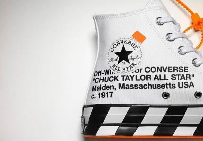 Sneakers Off-White X Converse Chuck 70 Bikin Plaza Indonesia Diserbu Milenial