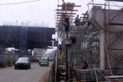 Pembangunan Tol BORR Seksi IIIA Ditargetkan Selesai Akhir Tahun