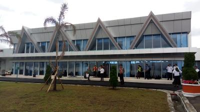Penumpang Bandara Silangit Turun 10%, Kunjungan Wisata Danau Toba Berkurang