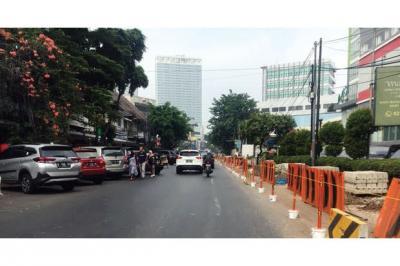 DKI Anggarkan Rp75 Miliar untuk Tata Trotoar di Jakpus