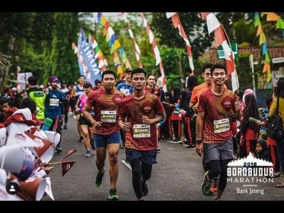 Kombinasi Track Lari Unik, Borobudur Marathon 2019 Siap Digelar