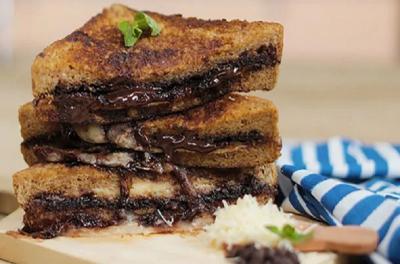 Bisa Buat Bekal Ngantor, Ini Cara Buat Roti Panggang Cokelat Keju