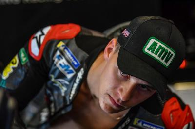 Quartararo Ungkap Kondisi Lengannya Usai Tampil di MotoGP Catalunya 2019