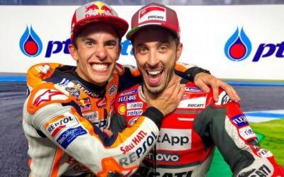 Jelang MotoGP Belanda 2019, Ini yang Dikhawatirkan Dovizioso dari Marquez