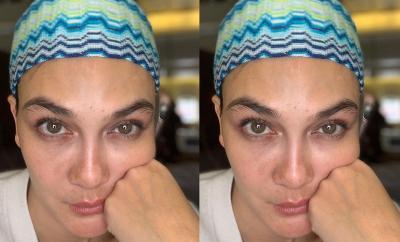 Wajah Berjerawat dan Flek, Luna Maya Pede Unggah Selfie Tanpa Make-Up