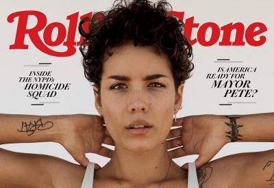 Jadi Cover Majalah Rolling Stones, Halsey Pamer Bulu Ketiak