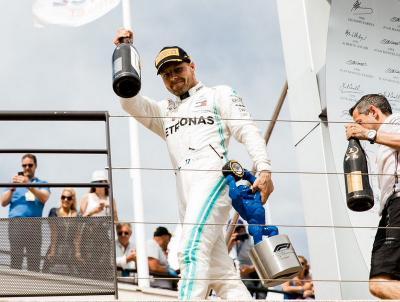 Girangnya Bottas Segel Podium Kedua di F1 GP Prancis 2019