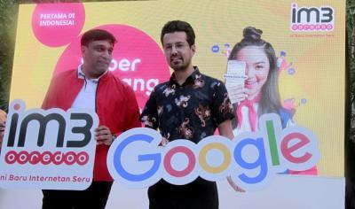 Kerjasama Indosat Ooredoo & Google Mudahkan Pengguna Cek Kuota Internet