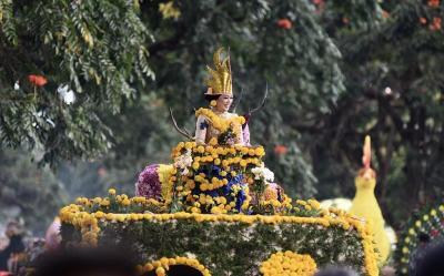 Parade Kendaraan Bunga di Beautiful Malino 2019 Pukau Wisman