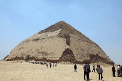 Pertama Kali dalam 50 Tahun, Dua Piramid Kuno di Mesir Dibuka untuk Publik!