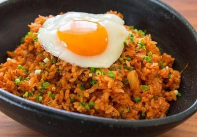 Nasi Goreng Kimchi dengan Gyeran Mari, Sedap untuk Sarapan