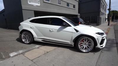Bedah Tampang,  Lamborghini Urus Gunakan Bodi Kit Seharga Rp417 Juta