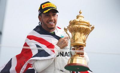 Raih Kemenangan Ke-6 di Silverstone, Hamilton: Rasanya seperti Pertama Kali!