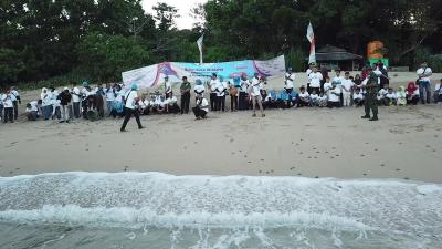 Jaga Populasi Penyu, 500 Ekor Tukik Dilepasliarkan