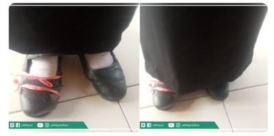 Viral Foto Peserta Ujian STAN dengan Sepatu Diikat Tali Rafiah, Ini Alasan di Baliknya