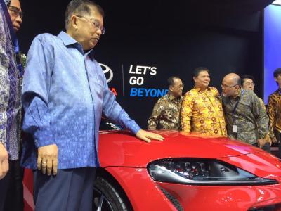 Ekspor Automotif Indonesia Kalah dari Thailand, Wapres JK: Kita Terlambat