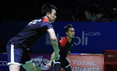 Ahsan Hendra Melaju Mulus ke Perempatfinal Indonesia Open 2019