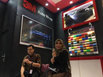 Hadir di GIIAS, 3M Indonesia Perkenalkan Seri Stiker 3M Wrap Film