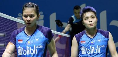 Greysia Apriyani Kecewa Berat Usai Gugur di 16 Besar Indonesia Open 2019