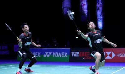 Ahsan Hendra Beberkan Kunci Sukses Lolos ke Semifinal Indonesia Open 2019