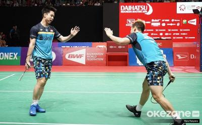Ikuti Jejak Ahsan Hendra, Marcus Kevin Lolos ke Final Indonesia Open 2019