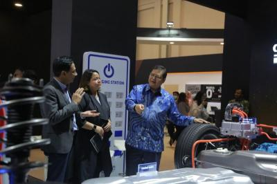 Kehadiran Teknologi Mobil Listrik Pukau Pengunjung GIIAS