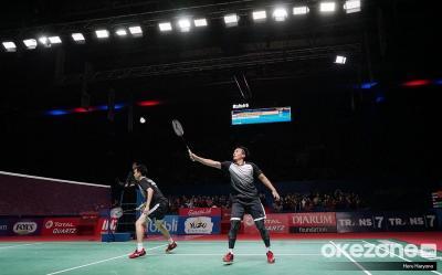 Gagal Juara di Indonesia Open 2019, Ahsan Hendra: Kami Tetap Bangga