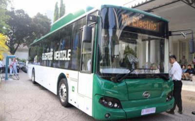 Bayar Pakai QR Code, Perum PPD Operasikan Bus Listrik pada Oktober