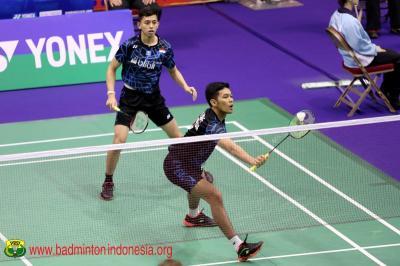 Fajar Rian Bakal Waspadai Serangan Cepat Ko Shin di Babak Kedua Jepang Open 2019