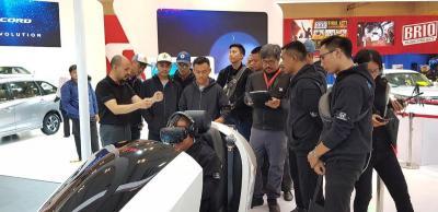 Education Day, Honda Perkenalkan Teknologi Mesin VTEC Turbo ke Ratusan Pelajar di GIIAS 2019