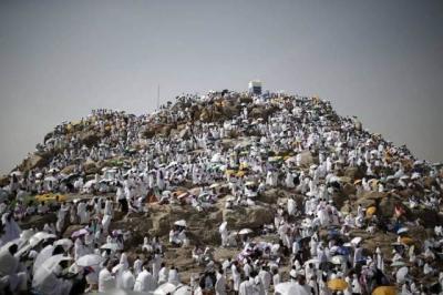 Duka di Jabal Rahmah