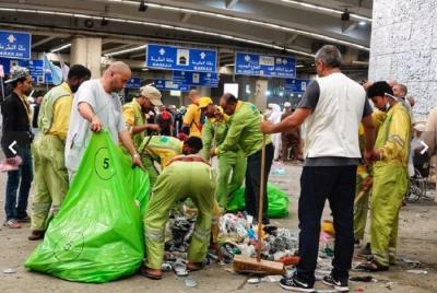 Ibadah Haji Kelar, Jalanan Kota Makkah Penuh Sampah Plastik