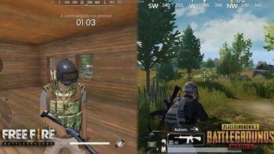 Usung Battle Royale, Ini 3 Perbedaan Game PUBG Mobile dan Free Fire