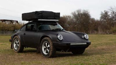 Bertampang Gagah, Atap Porsche Ini Sanggup Angkut Beban 1,4 Ton