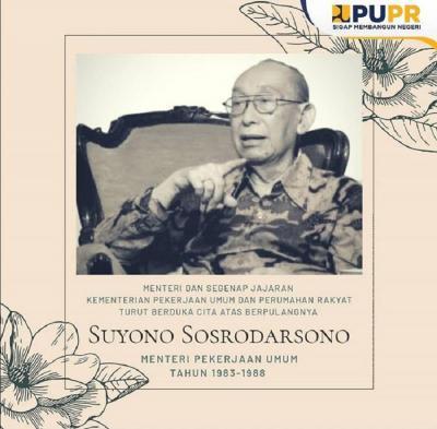 Mengenang Suyono Sosrodarsono, Mantan Menteri PU di Era Presiden Soeharto