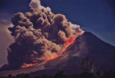 Begini Geliat 7 Gunung Api Paling Aktif di Indonesia Sepekan Lalu
