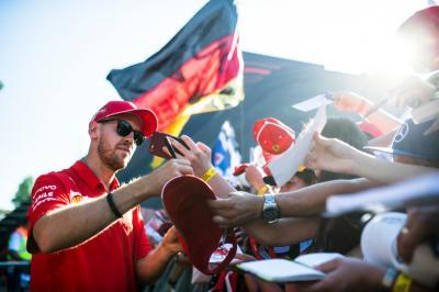 Manajer Ferrari: Vettel Masih Targetkan Jadi Juara Dunia