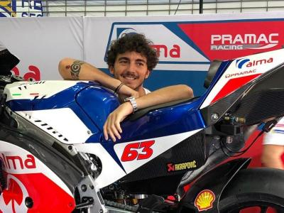 Misi Bagnaia Jadi Rookie Terbaik MotoGP  Terganjal Performa Motor