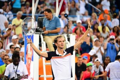 Usai Juara Cincinnati Masters, Medvedev Alihkan Fokus ke AS Terbuka 2019