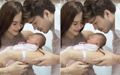 Aura Kasih Posting Wajah Anak untuk Pertama Kali, Intip Momen Bahagianya
