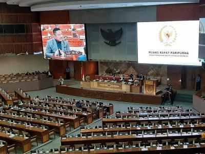 Rapat Paripurna DPR Bahas Peristiwa Kericuhan di Papua