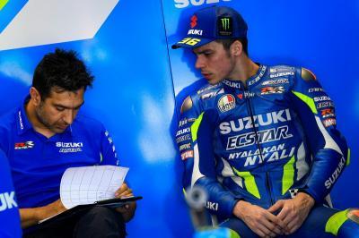 Absen di Silverstone, Mir Berharap Bisa Bugar di San Marino