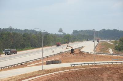 Dioperasikan Tahun Ini, Konstruksi Tol Balikpapan-Samarinda Capai 96%