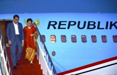 Jokowi & Menteri Kabinet Kerja Tinjau Tambak Garam di Kupang