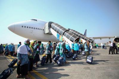 Pesawat Garuda Gangguan Teknis, Kepulangan Jamaah Haji Solo Delay 10 Jam