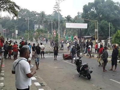 Polisi Selisik Peran Korlap Aksi Pengepungan Asrama Papua di Surabaya